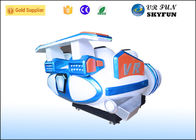 Fun Family Theater + 6 Kursi 9d Virtual Reality Simulator / Vr Amusement Park