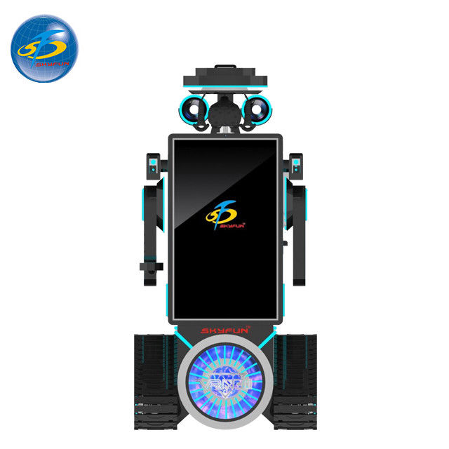 Custom Made Auto VR Game Machine With Cool Robot Appearance 250 kg