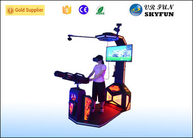 Simulator Simulator Vive VR Vive VR 9D Virtual Equipment Gatling VR Untuk Hiburan